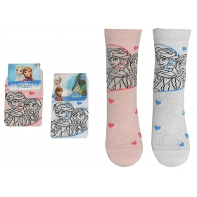 Frozen openwork socks