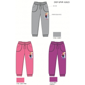 Frozen girls pants