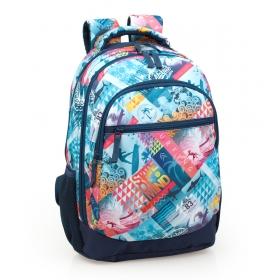 Dellbag 3 pockets teenage backpack