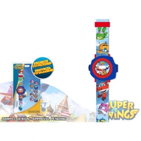 Superwings wrishwatch with 10 pictures projector