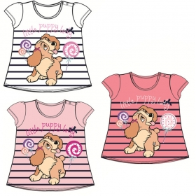 Lady and the Tramp baby t-shirt