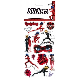 Miraculous Ladybug Removable Vynil Stickers