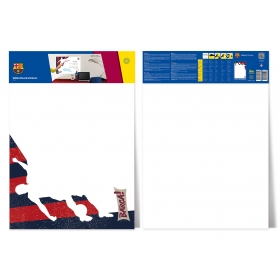 FC Barcelona sticky white board