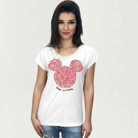 Mickey Mouse teenage t-shirt s. S/M