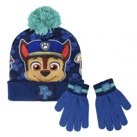 Paw Patrol autumn / winter hat and gloves set