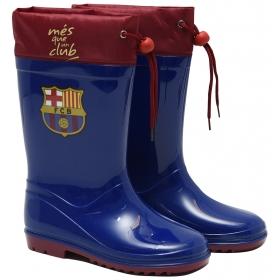 FC Barcelona rainboots