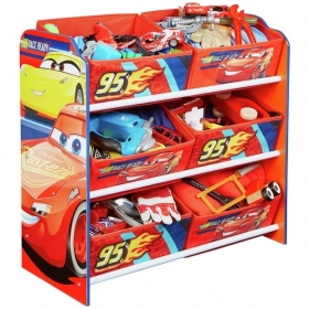 Cars single bed with drawer