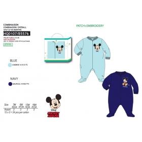 Mickey Mouse polar fleece pajamas