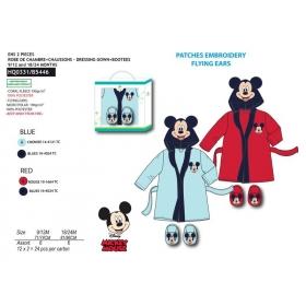 Mickey Mouse bathrobe