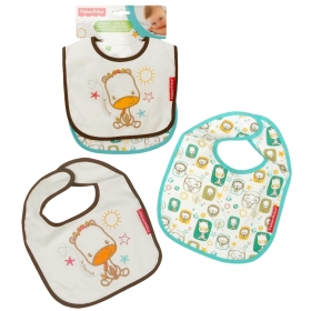Fisher Price baby bib 2 pack