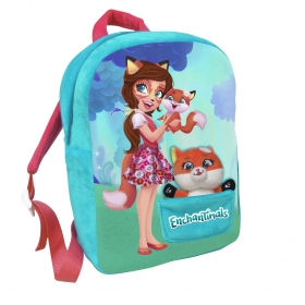 Enchantimals backpack with mascot