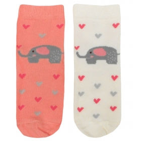 Elephant baby socks