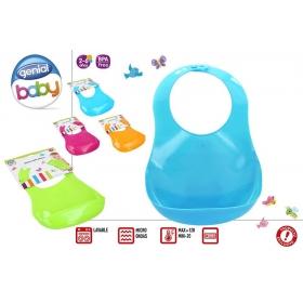 Plastic baby bib