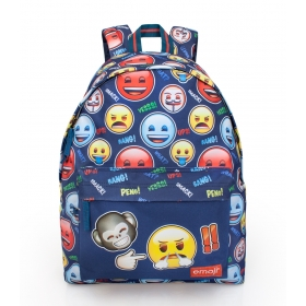 Emoji teenage backpack