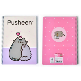 Pusheen the Cat spiral notebook 5x5 cm