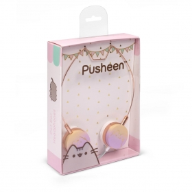 Pusheen cat headphones