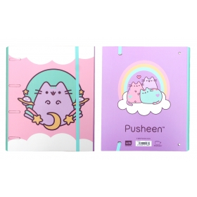 Pusheen folder with rubber