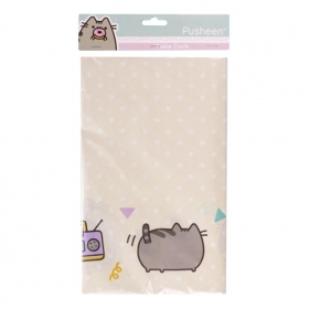 Pusheen paper table cloth