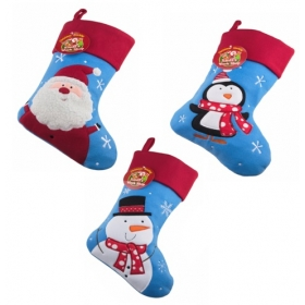 Christmas Craft - Stocking Blue/Red - model to choose