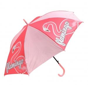 Zaska automatic umbrella - flamingo