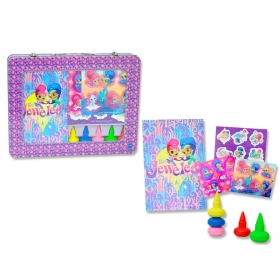 Shimmer and Shine art set in metal case