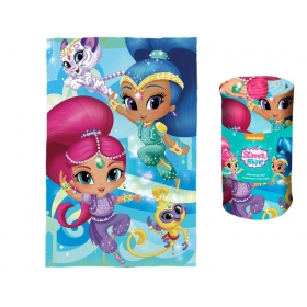Shimmer and Shine fleece blanket