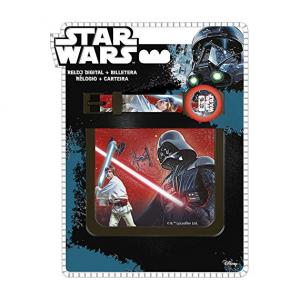 Star Wars wristwatch and wallet