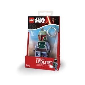 Lego Star Wars keychain with LED torch – Boba Fett