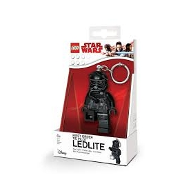 Lego Star Wars keychain with LED torch – First Order Tie Pilot