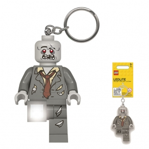 Lego keychain with LED torch – Zombie