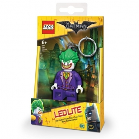 Lego Batman Movie keychain with LED torch – Joker