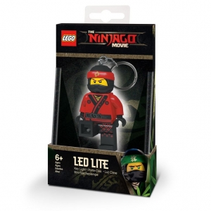 Lego Ninjago keychain with LED torch – Kai