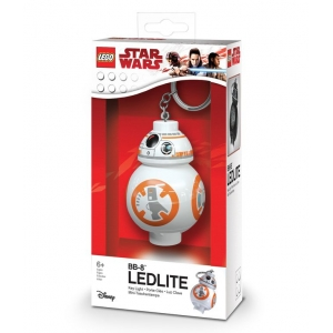 Lego Star Wars keychain with LED torch – BB-8