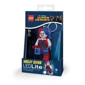 Lego Batman Movie Harley Quinn keychain with LED torch
