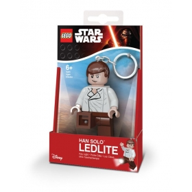 Lego Star Wars Han Solo keychain with LED torch