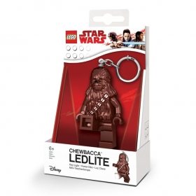 Lego Star Wars Chewbacca keychain with LED torch