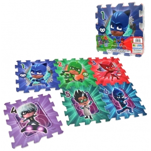 PJ Masks foam puzzle - 6 pcs