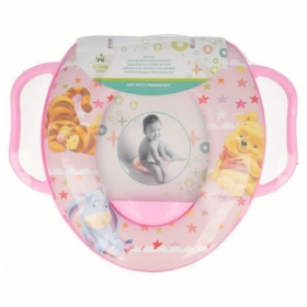 Winnie the Pooh offset mini wc with handles toddler pink ready to play