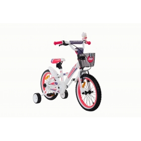 Blanic bicycle – white 16 inch