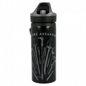 Stor Young Adult Premium Aluminium Bottle 600 Ml Assassins Creed