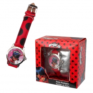 Miraculous Ladybug wrist watch in gift box