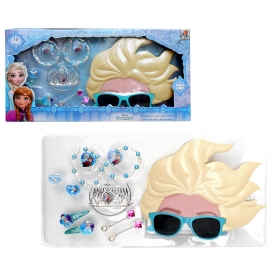 Frozen hair accessories, jewellery and 3D sunglasses gift set