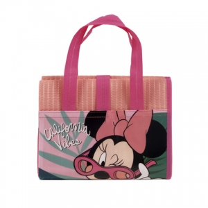 Minnie Mouse beach mat with pillow