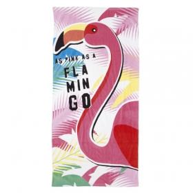 Zaska Flamingo beach bag