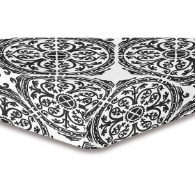 DecoKing Hypnosis Mandala microfibre fitted sheet 220x240 cm