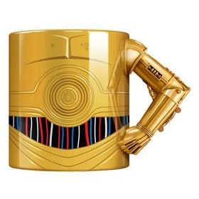 Star Wars C3PO Arm Mug Gold Finish