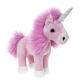 Unicorn plush toy 32 cm - pink