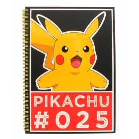 Pokemon Streetwise a4 notebook