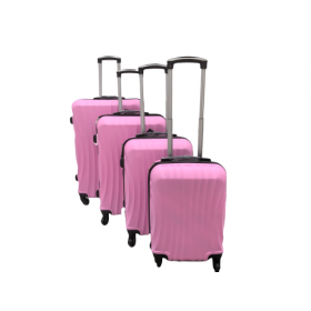 ABS Trolley cases 4 pcs compartment Coco Divo