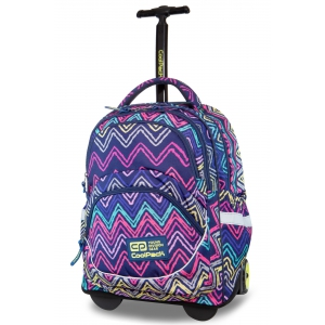 Coolpack - starr - a youth backpack on wheels - flexy